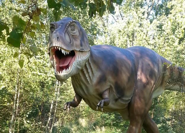 Tyrannosaurus Rex im Dinosaurierland Rügen
